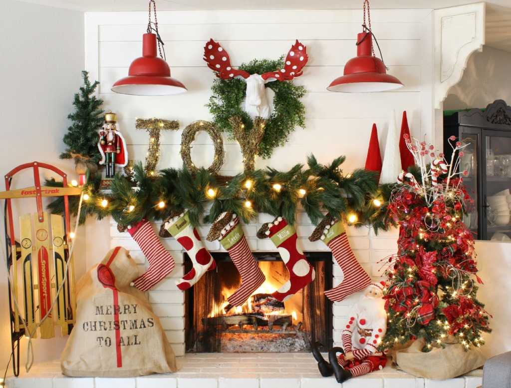 Weihnachten Dekoration Real How To Decorate A Mantel For Christmas