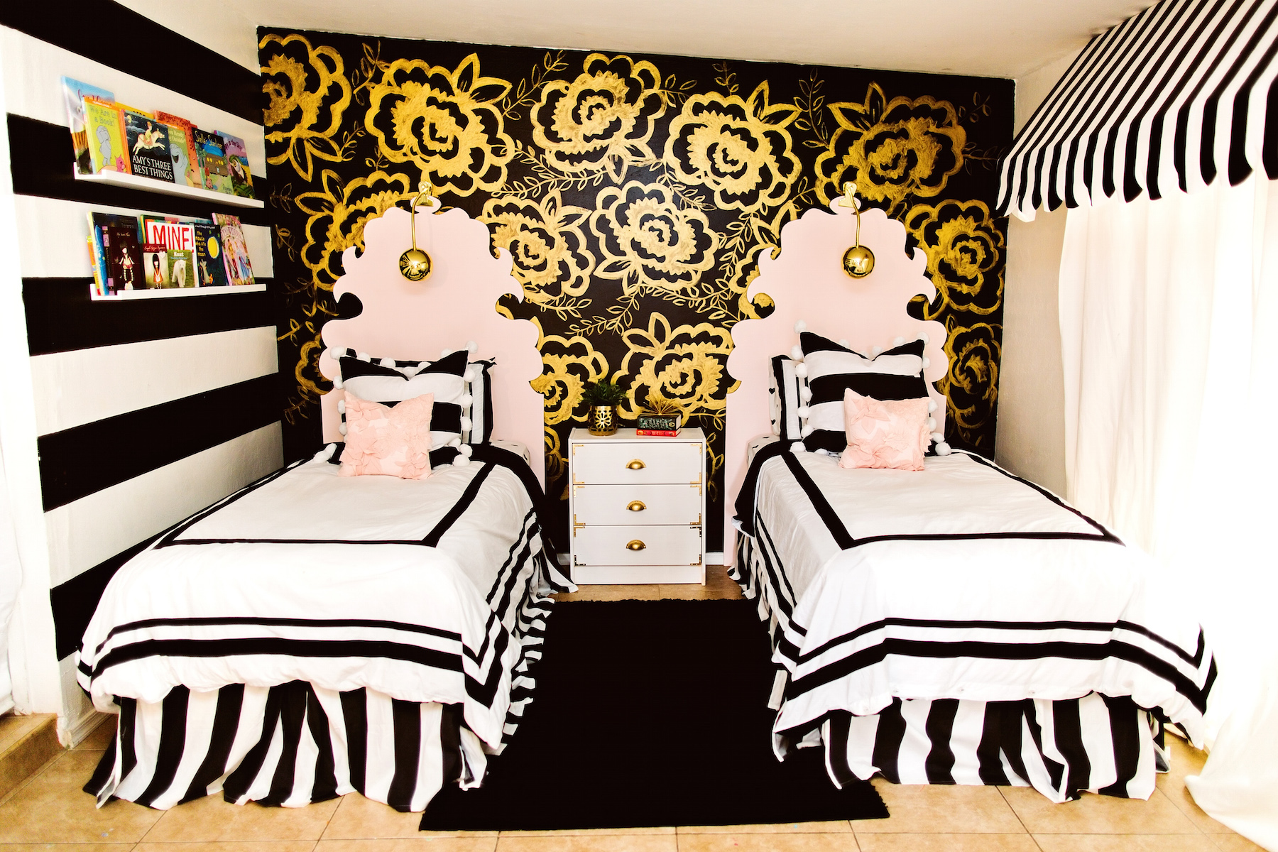 Black White And Gold Bedroom Black And Gold Girls Bedroom