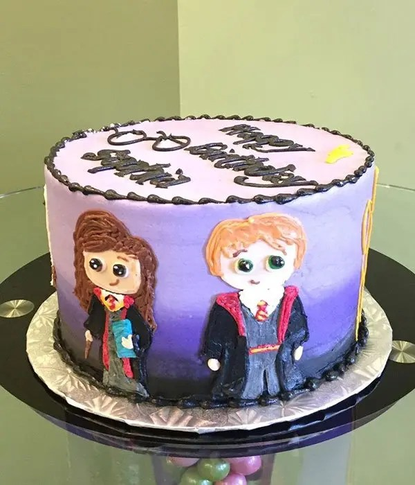 Tv Trays Harry Potter Character Layer Cake – Classy Girl Cupcakes