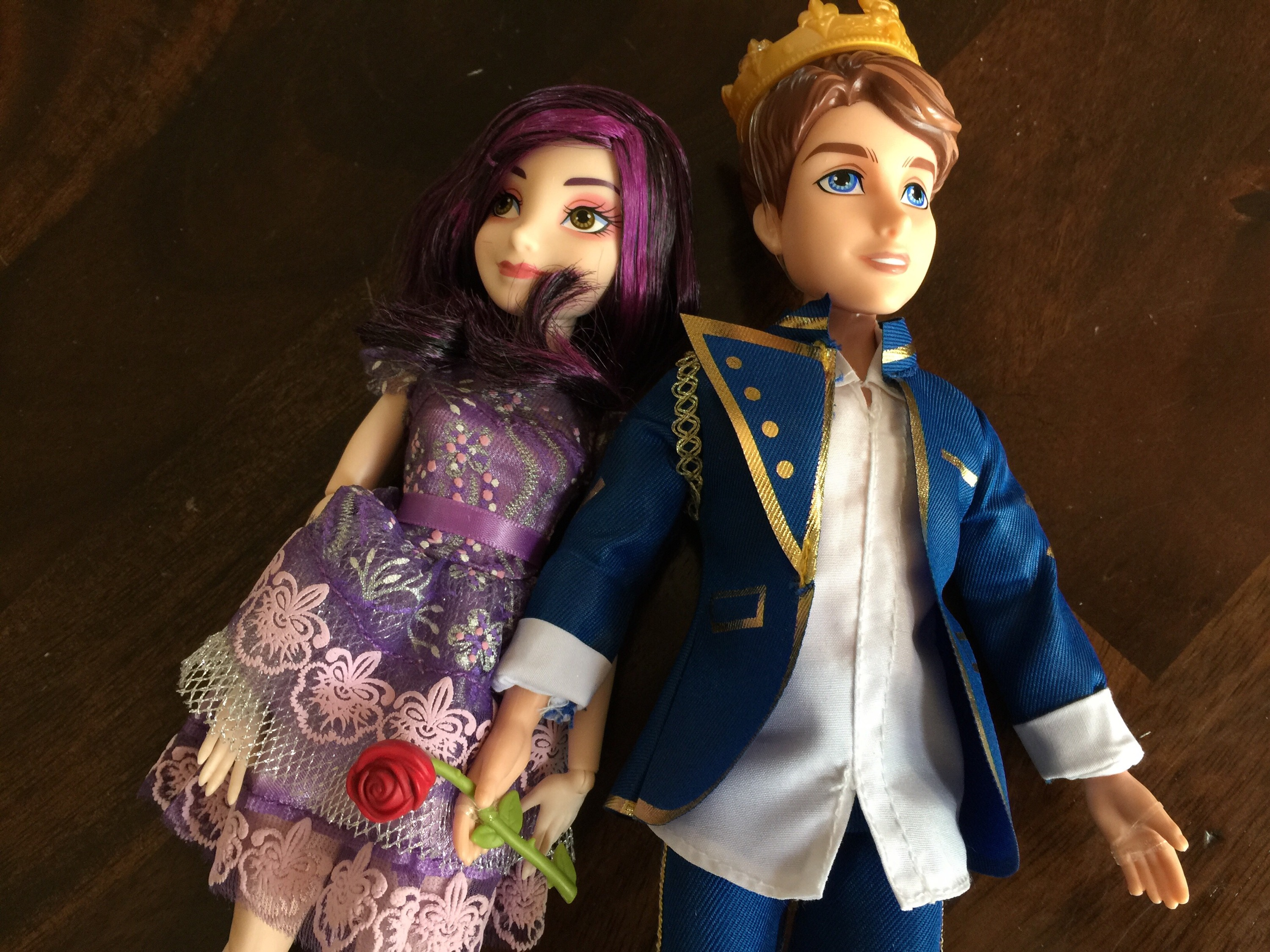 Baby Stroller Bag Disney Descendants Mal And Ben Doll Set Video Review
