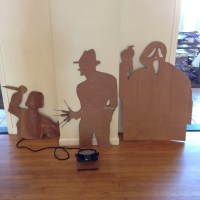 Scary Cardboard Cut Outs