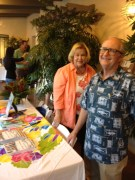 Paul & Claudine Burnett at book launch, Aug. 2013