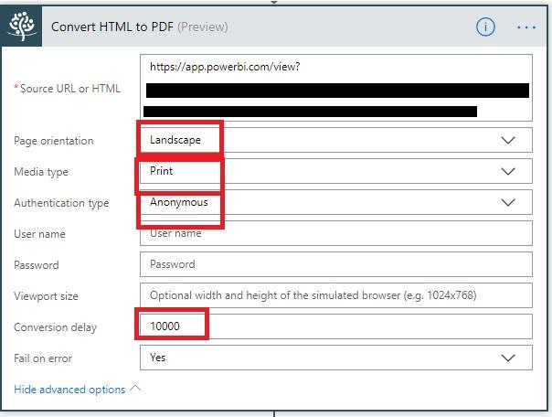 Convert Power BI Dashboard to PDF using Microsoft Flow Beta Blog