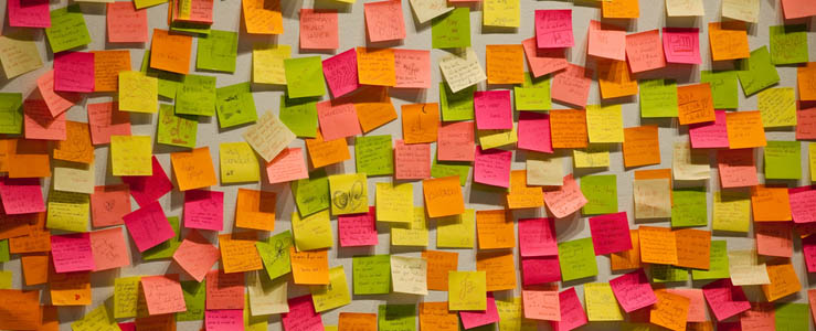 Sticky Notes for Project Planning Claxus - stickey notes