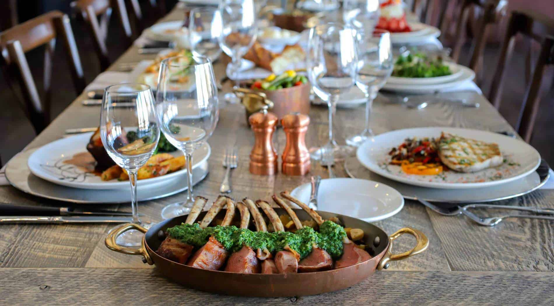 Buffet Fly Occasion Dining At C Lazy U Guest Ranch Colorado Family Vacations