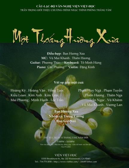 MotThoangHuongXua