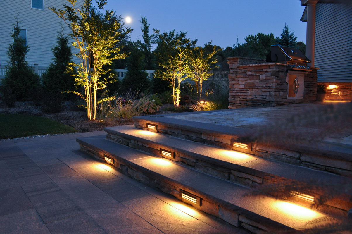 Outside Stair Lights Fabulous Find This Pin And More On