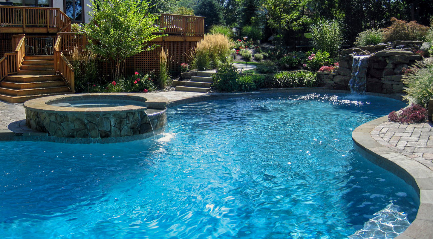 Ein Pool Pool Design Nj Clc Landscape Design