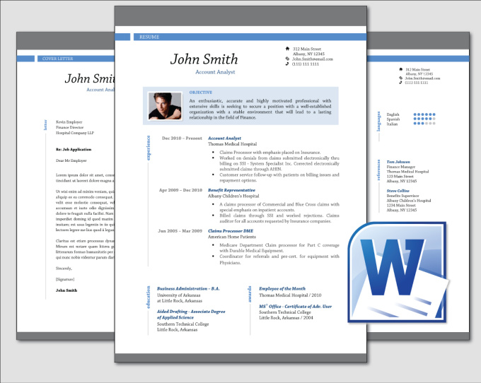 Resume Template 781 Free Samples Examples Format Design Clean Professional Resume Cv Template Word