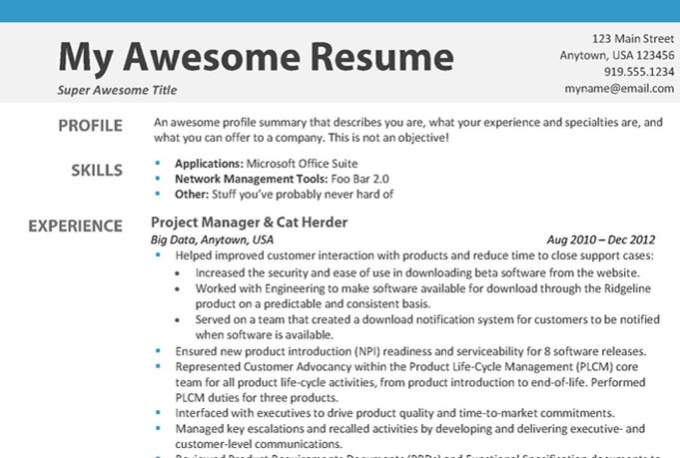 Getting Your Resume Noticed Online Professional Resume Writers