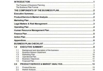send you a 63 page business plan template with cash