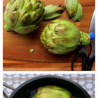 A Pictorial Guide on How To Cook Artichokes in Ten Easy Steps
