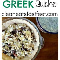 The Greek Quiche Recipe: Artichokes, Kalamata Olives, Sun-Dried Tomatoes, & Feta
