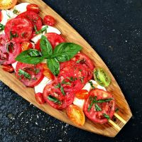 Caprese Salad Recipe and Genuine Blogging