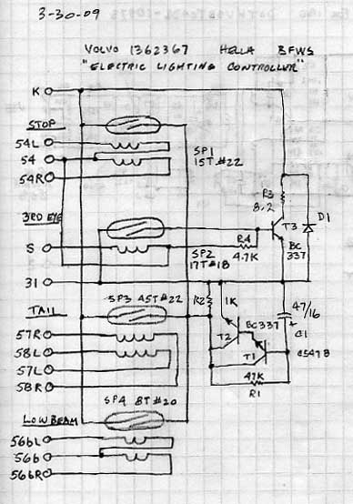 volvo 240 wiring diagram on volvo wiring diagram 960 instrument