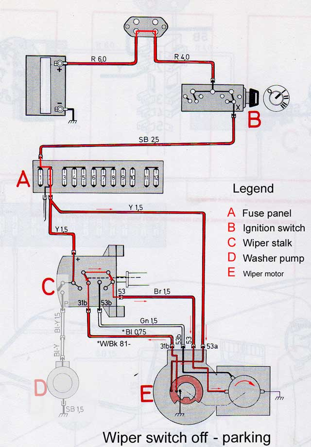 89 S 10 Wiper Motor Wiring Diagram Wiring Diagram Libraries