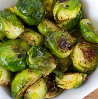 Oven Roasted Brussel Sprouts - Perfect Holiday Sidedish | Clean Food Crush
