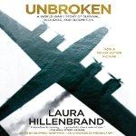 "<span class=""item""><span class=""fn title-book"">UNBROKEN</span><span class=""title-author""> by Lauren Hillenbrand</span></span>"