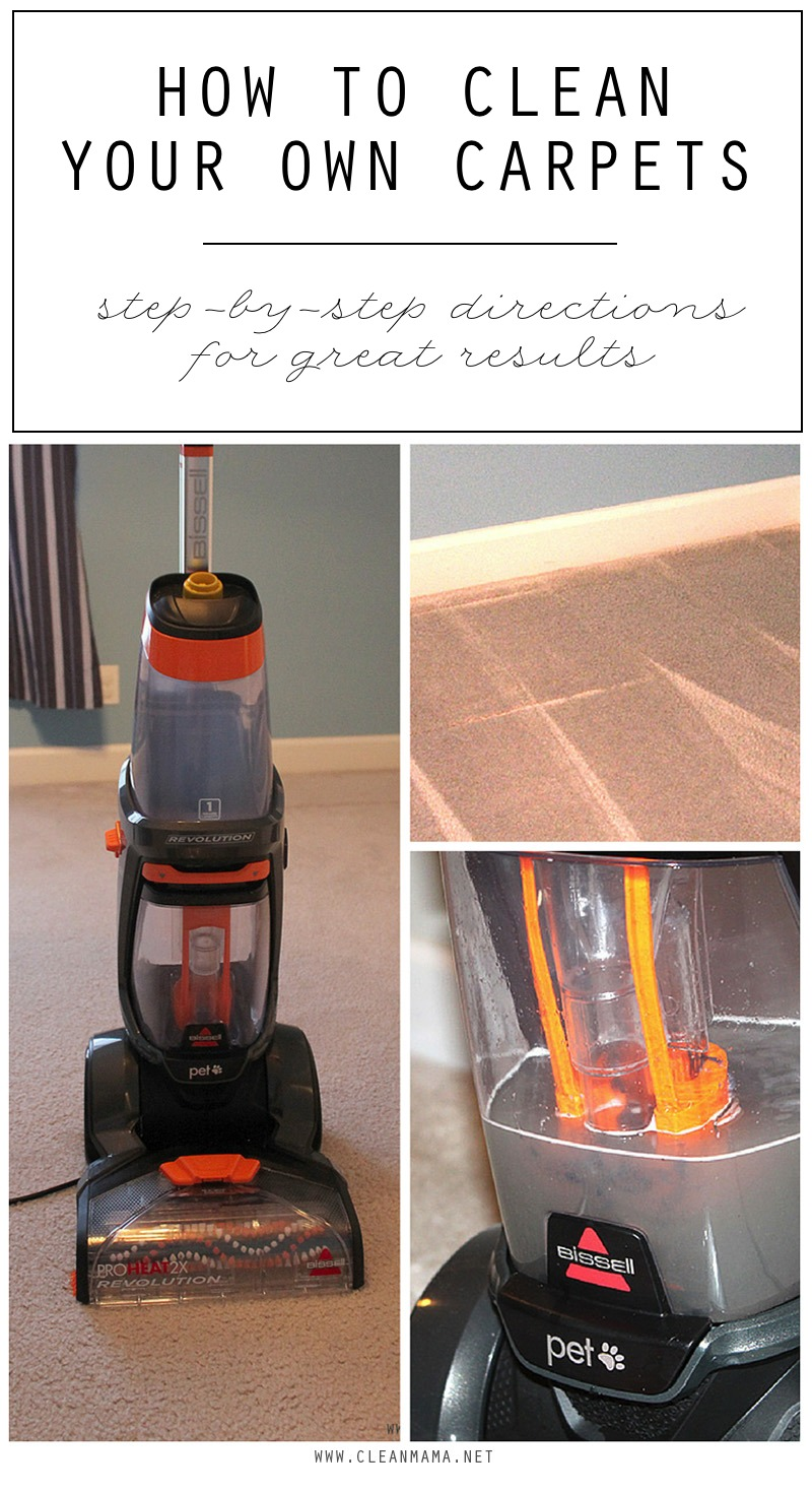 Carpet Cleaning Vacuum How To Clean Your Own Carpets Clean Mama