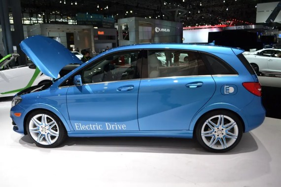 Mercedes B-Class Electric Car