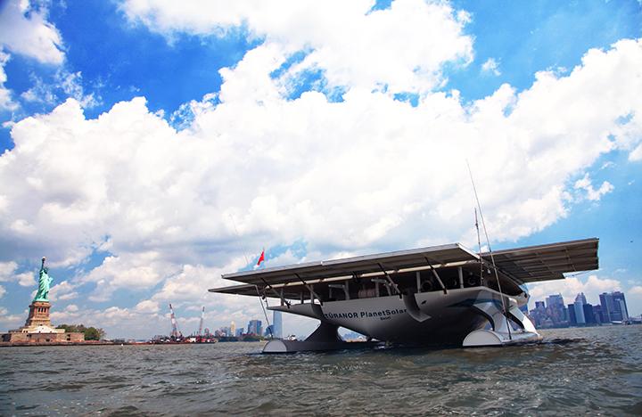 solar boat flat 4