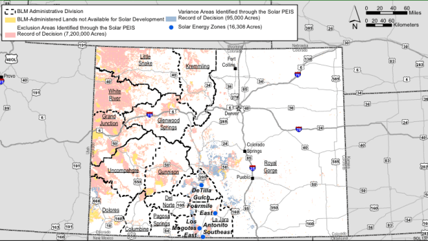 Colorado Solar Energy Zones