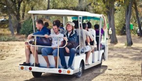 EV shuttle Crimea Ukraine tour