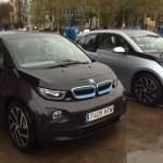 BMW i3 black BMW i3 silver