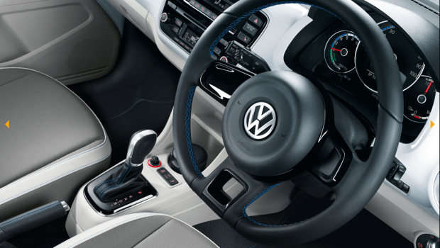 VW e-Up! dashboard