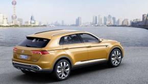 VW crossblue coupe plug in