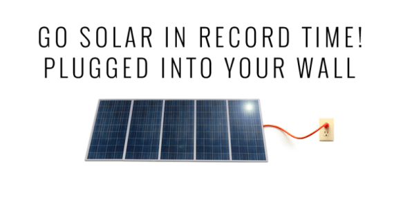 plug and play solar