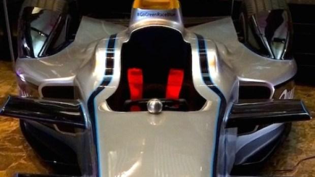 Qualcomm Formula E racer