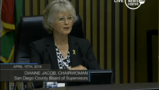 County Supervisor Dianne Jacob - Courtesty County News Service
