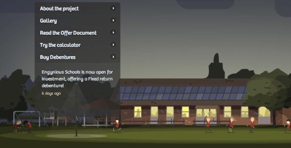 UK solar school