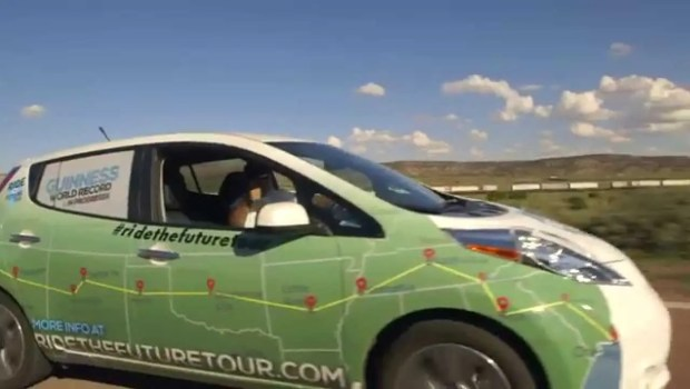 """Kick Gas"" Following Four People Driving Electric Vehicles Across US (VIDEO)"