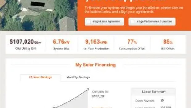 SUNGEVITY, INC. IQUOTE PLATFORM