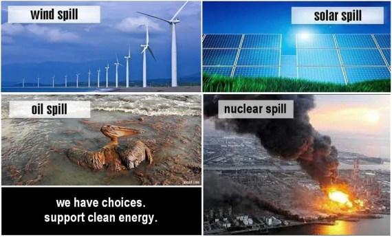 8 Renewables Spills Solar Wind Oil Nuclear2