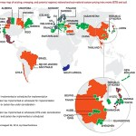 Existing, emerging, and potential carbon pricing plans (World Bank, updated)