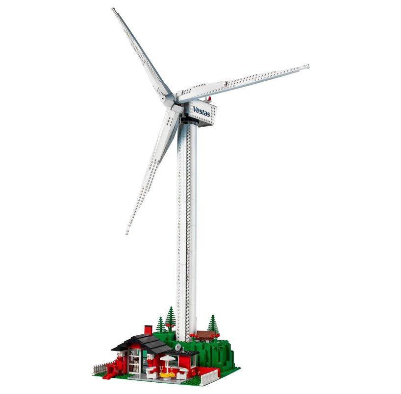 small wind work green