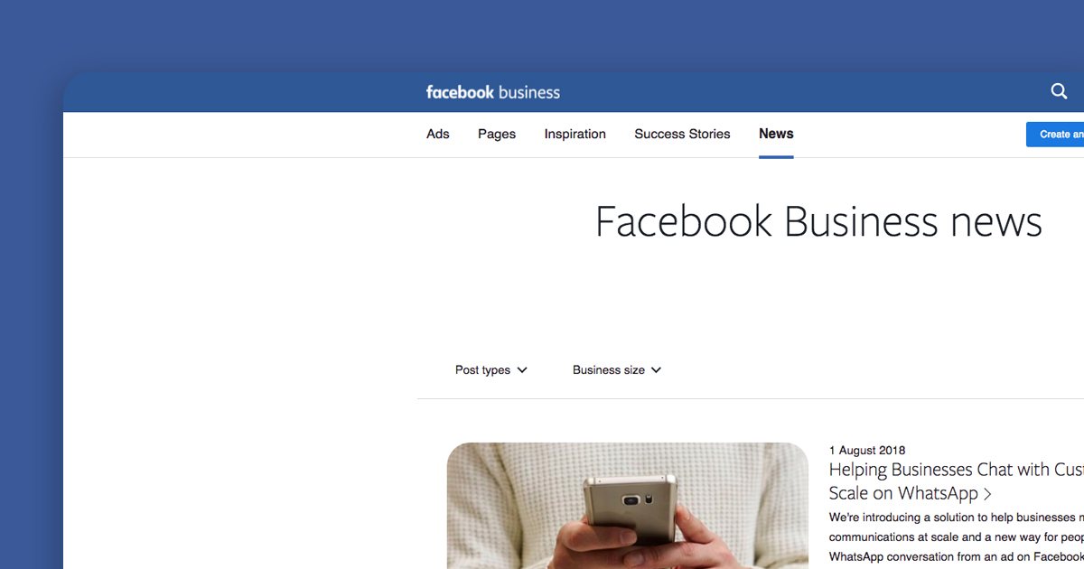 New Facebook business page templates Clear Design Shrewsbury