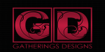 GD Gatherings Designs  LOGO RED