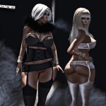 {ViSion} - S&F - Lingerie Erotica _W Tango, Phat_Cute Azz - pic