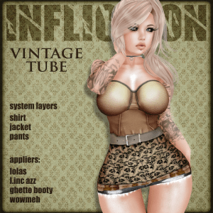 [ Infliction ] Vintage Tube - Going Bust