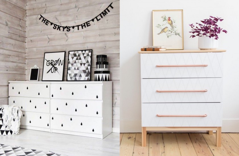 Armoire Plate Transformer Un Meuble Ikea : La Commode Malm - Clem Around
