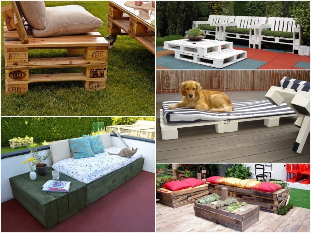 Salon Exterieur Palette Faire Une Terrasse En Palette Blog Déco Clem Around The