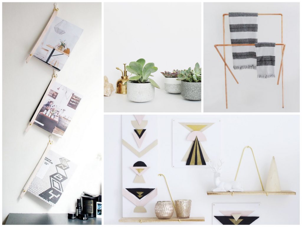 Magazine Maison Bricolage Et Décoration 10 Diy Deco Maison Faciles Blog Deco Clem Around The
