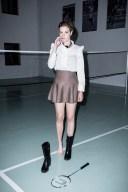 Portrait of Natalie playing badminton, badminfun, flash, mode, fit, fashion, mode, clemenfoto, fotograf