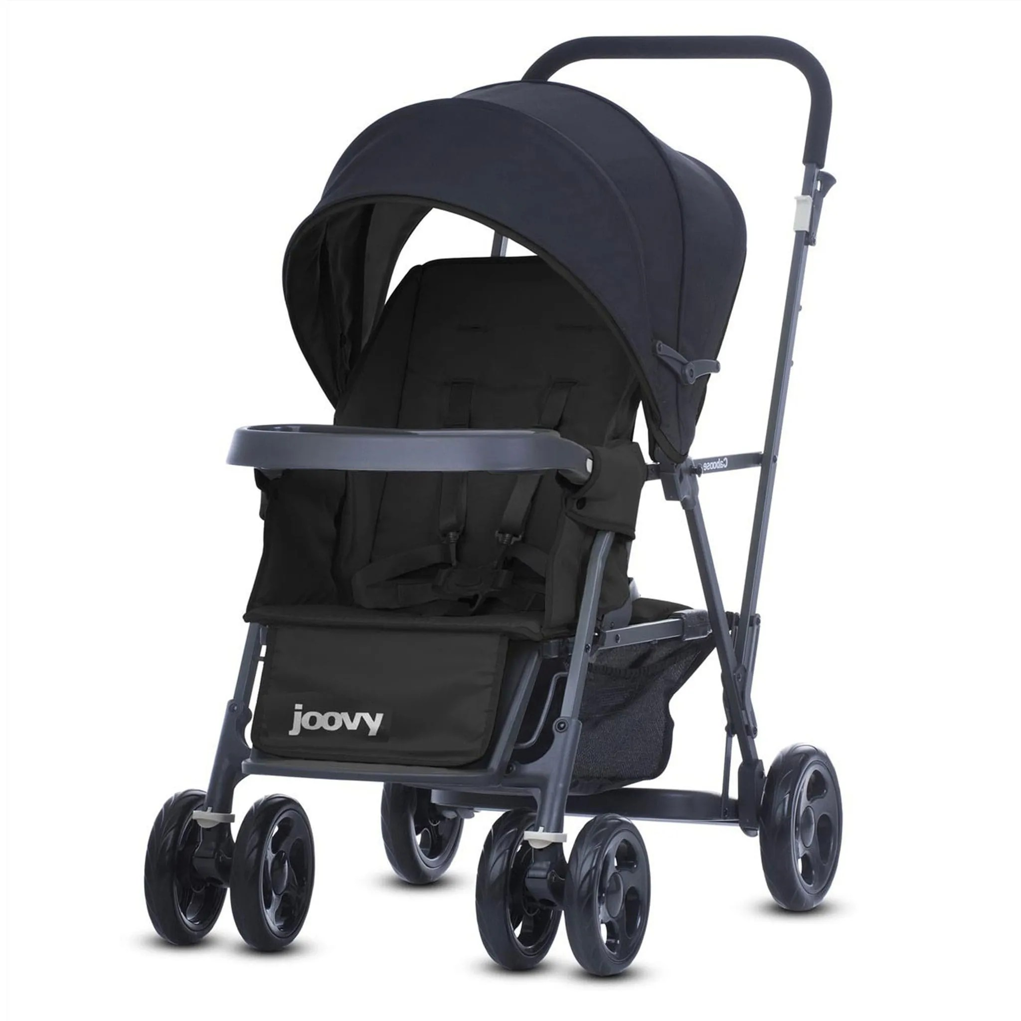 Peg Perego Stroller For Twins Joovy Caboose Double Stroller Black Clement