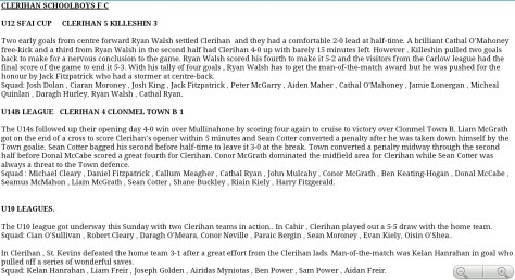 Clerihan match report-1433830039