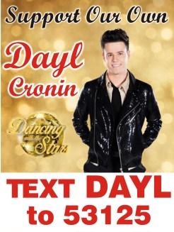 Dayl - dancing wth the stars posters 2